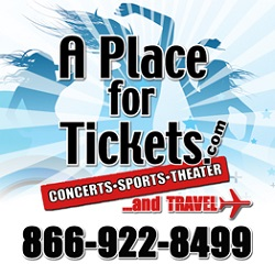 A Place for Tickets - Sports, Concert, Theater, and Travel